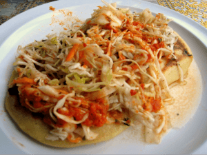 Curtido (Spicy Cabbage Slaw for Pupusas, etc ...