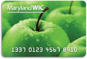 Maryland eWIC card Women Infants and Children nutrition program WIC FMNP