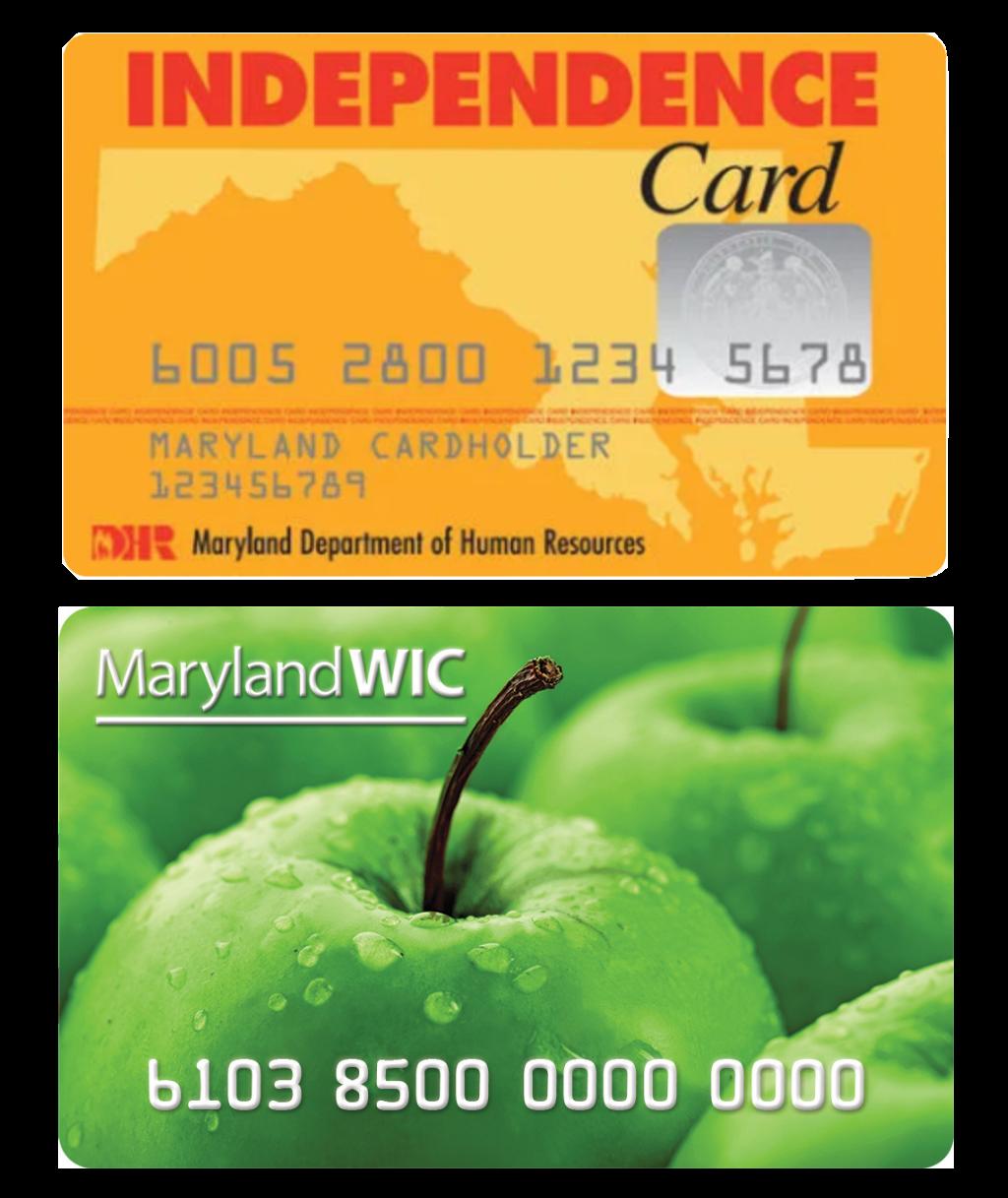Maryland eWIC card Women Infants and Children nutrition program WIC FMNP